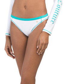 JUICY COUTURE Bikini Bottom With Contrast Band