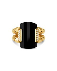 Michael Kors - Statement Ring in 14K Gold-Plated S