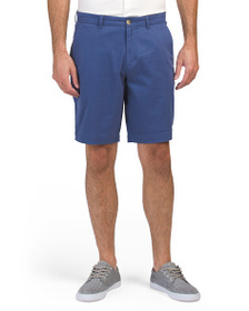 BEN SHERMAN Stretch Sateen Shorts