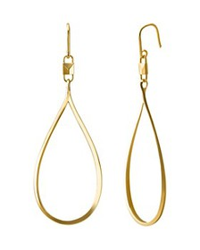 Michael Kors - Mercer Large Teardrop Earrings in 1