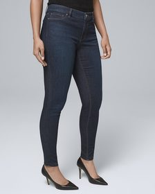Curvy-Fit Classic-Rise Jeggings