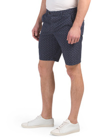 FRENCH CONNECTION Kast Tile Twill Shorts
