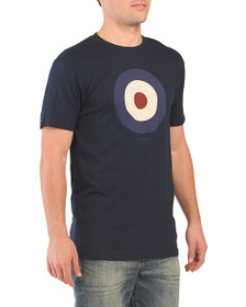 BEN SHERMAN Short Sleeve The Target Graphic Tee