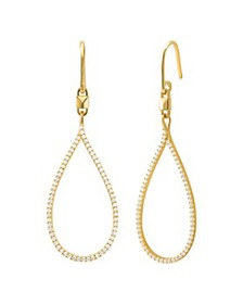 Michael Kors - Mercer Teardrop Earrings in 14K Gol