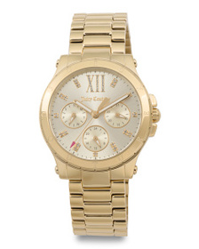 JUICY COUTURE Women's Hollywood Bracelet Watch In
