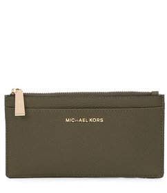 MICHAEL Michael Kors Large Leather Slim Card Case