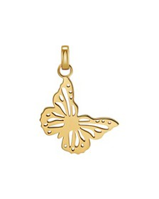 Michael Kors - Oversized Butterfly Charm in 14K Go