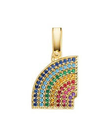 Michael Kors - Pavé Rainbow Charm in 14K Gold-Plat