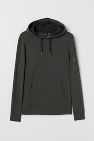 Muscle Fit Hooded Shirt