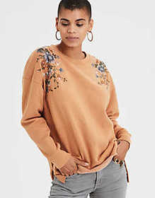 American Eagle AE Ahh-mazingly Soft Oversized Embr
