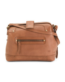 BORN Clayton Frame Leather Crossbody