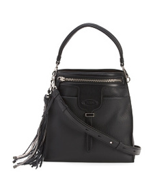 TODS Made In Italy Thea Small Leather Bucket Bag