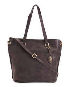 BORN Leather Distressed Baxter Tote