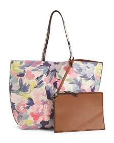 FRENCH CONNECTION Tote With Removable Interior Pou