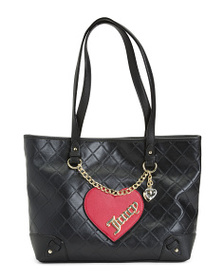 JUICY COUTURE Cross My Heart Double Handle Tote