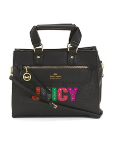 JUICY COUTURE Rock Candy Satchel