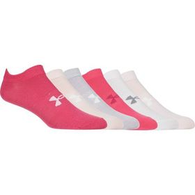 Under Armour Essential No-Show 2.0 Sock - 6-Pack -