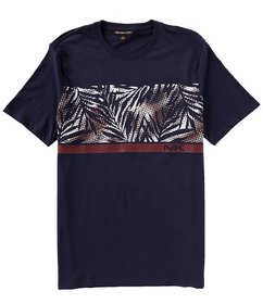 Michael Kors Dot Palm Graphic Short-Sleeve Tee