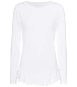81hours Nella long-sleeved cotton top