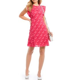 MICHAEL Michael Kors Butterfly Applique Shift Dres