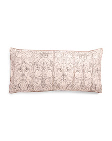 NICOLE MILLER 17x35 Doneshia Medallion Embroidered