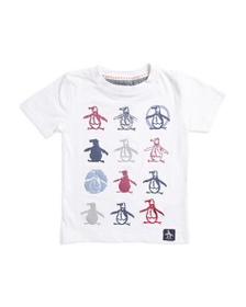 PENGUIN Little Boys Short Sleeve Graphic Tee
