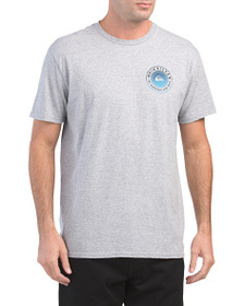 QUIKSILVER Check Me Out Logo Tee