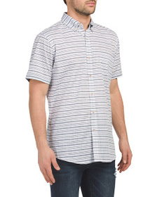 LEE Short Sleeve Striped Shirt
