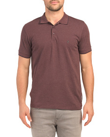 FRENCH CONNECTION Single Tipped Stretch Pique Polo