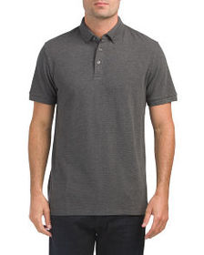 FRENCH CONNECTION Parched Textured Pique Polo