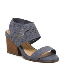DR. SCHOLL'S Comfort Perforated Wedge Sandals