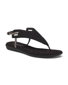 AEROSOLES Ankle Buckle Thong Sandals