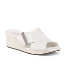 NATURALIZER Wedge Leather Sandals