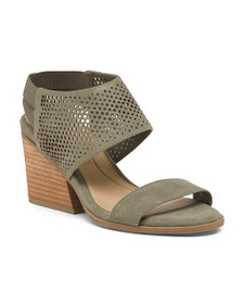 DR. SCHOLL'S Comfort Perforated Wedged Sandals