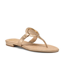 VINCE CAMUTO Thong Toe Leather Sandals