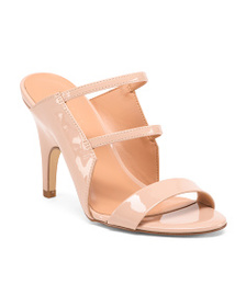 HALSTON HERITAGE Stiletto Heel Slide Sandals