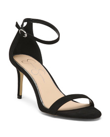 JESSICA SIMPSON Two Piece Ankle Wrap Heels