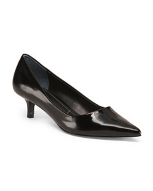CHARLES BY CHARLES DAVID Pointy Toe Low Heel Pumps