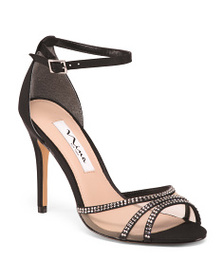 NINA Ankle Strap Stiletto Heel Dress Sandals