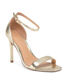HALSTON HERITAGE Ankle Strap One Band Dress Sandal