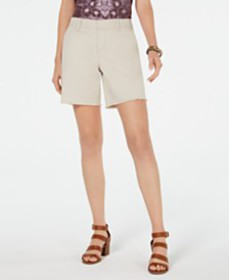 Style & Co Released-Hem Relaxed-Fit Shorts, Create