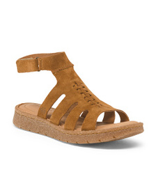 BORN Suede Gladiator Sandals