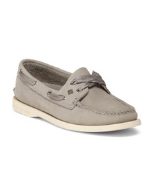 SPERRY Fashion Lace Leather Boat Shoes