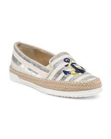 ANNE KLEIN Jute Wrap Anchor Flats