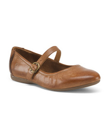 BORN Maryjane Leather Flats