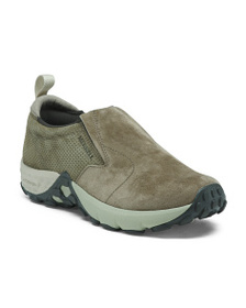 MERRELL Breathable Slip Resistant Suede Shoes