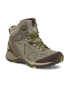 MERRELL Waterproof Nubuck Leather Hiking Boots