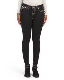 TRUE RELIGION Super Skinny Jeans With Pocket Flaps