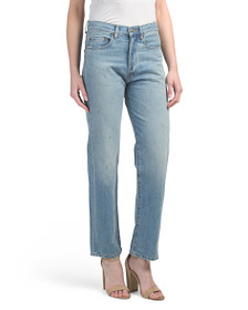 ELIZABETH AND JAMES Made In Usa Boyfriend Jeans