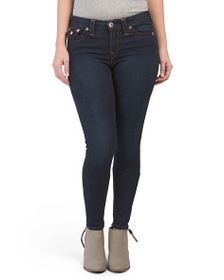 TRUE RELIGION High Waisted Super Skinny Big T Jean
